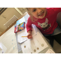 Sophia explored the value of coins.