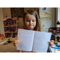 a fantastic booklet Issy!
