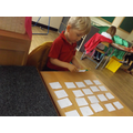 then we created our own 2's number line...