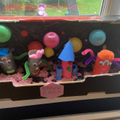 Lucy and her family made a fabulous model.