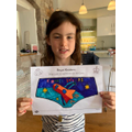 Faith enjoyed doing Queen's Knickers design.