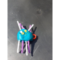 A spider that moves, I hope its not scary!