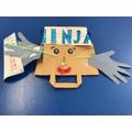 Max's Ninja puppet