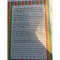 Mari's writing.