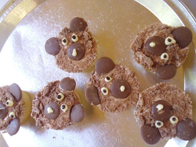 We enjoyed our bear cakes!