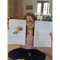 Issy wrote a beautiful story!