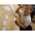 Creating a number line...