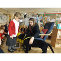We learnt about the special leads Dogs have