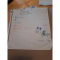 Jacob wrote a Zog poem.