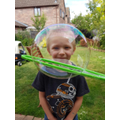 Some fantastic bubbles from Harry!