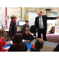 Visit from David Cash - Barclays Bank