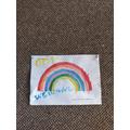A beautiful rainbow from Daisy!
