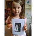 Issy enjoyed finding out about Princess Diana...
