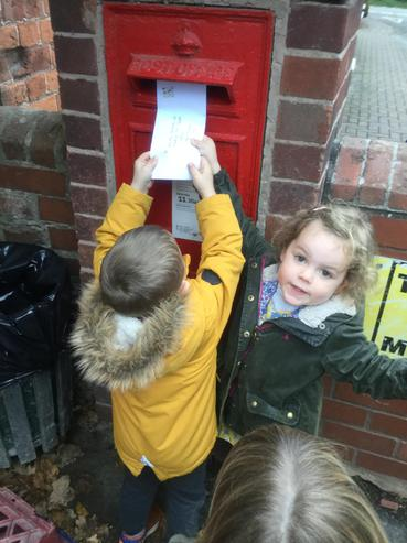 Posting our letter.