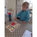 Zack enjoyed 'splatting' some words!