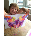 A great butterfly from our story.