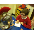 Looking at the object from different angles.