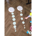 Eloise ordered the circles by size.