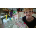 Bryn has been doing chromatography.