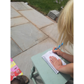 Daisy wrote her own 'Dear Diary'