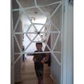 Tomas and his web.