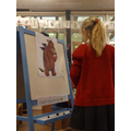 Adding the Gruffalo's prickles