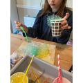Eleanor's bubble making