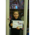 Lucy, Y6 runner up