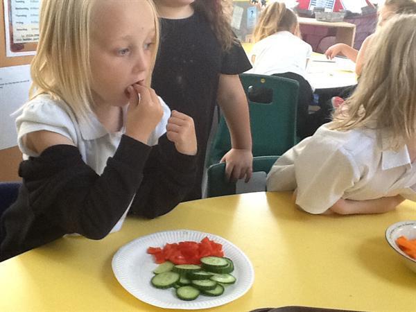 Tasting Fruit and Vegetables