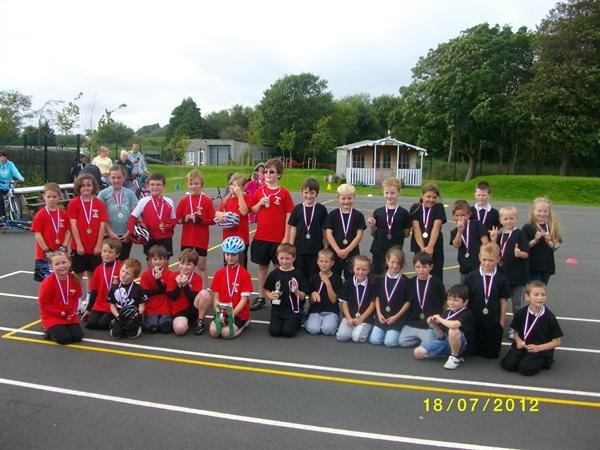 Morfa Cycle Club Event