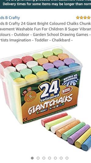 Large chalks