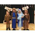 Mary, Joseph, Donkey & Innkeeper