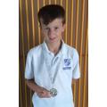 Silver Medallist in Butterfly!