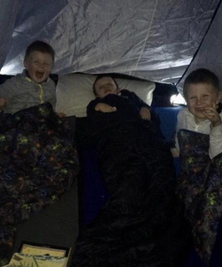 Summer tent fun