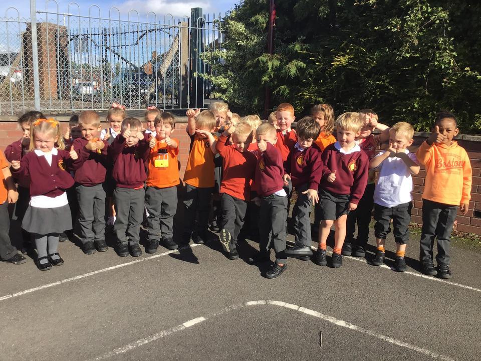 We helped to turn Maidensbridge orange today to help raise awareness of ADHD.