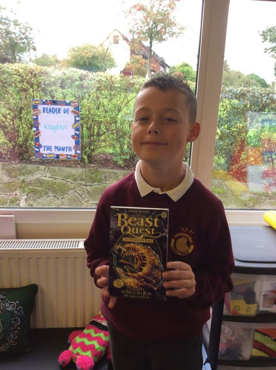 September's reader of the month! (Beast Quest)