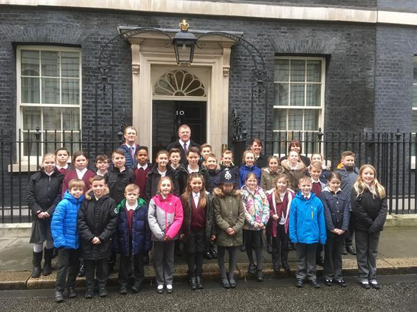 Visiting Downing Street