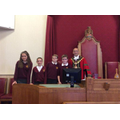 Our Debating Team with the Mayor of Dudley