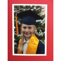 One of our Year 5 Children's University Graduates