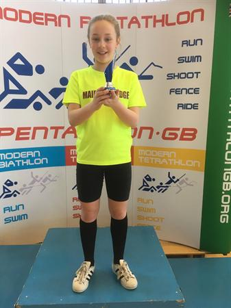 Erin- 5th -British Schools' Biathlon Championships