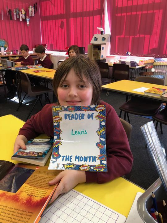 October's reader of the month! (Beast Quest prize)