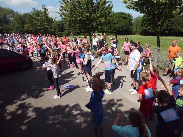 Race for Life June 2015