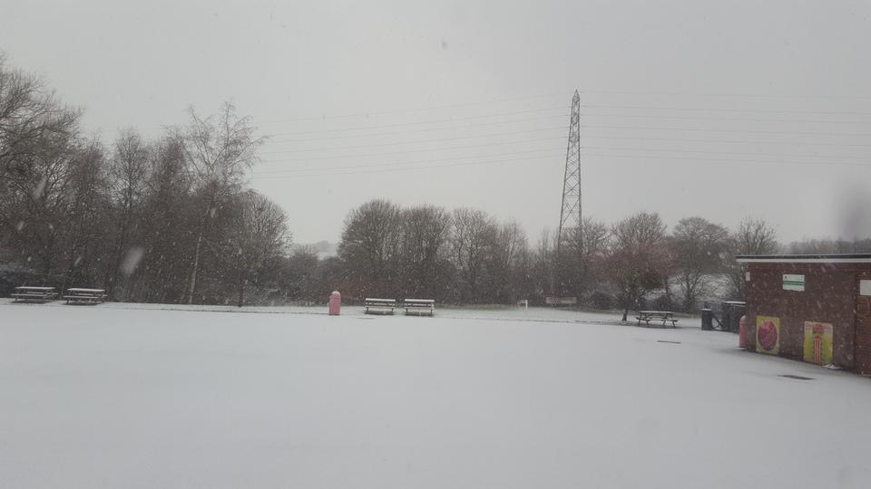 Snowy KS2 playground