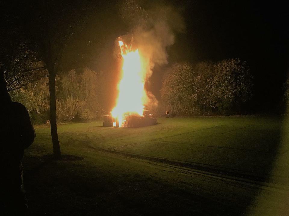 HSA Community Bonfire 2017 - Bonfire