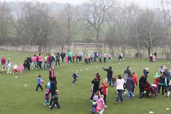 Sports Relief - The Maidensbridge Stroll.
