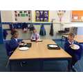 Lunch in the classroom