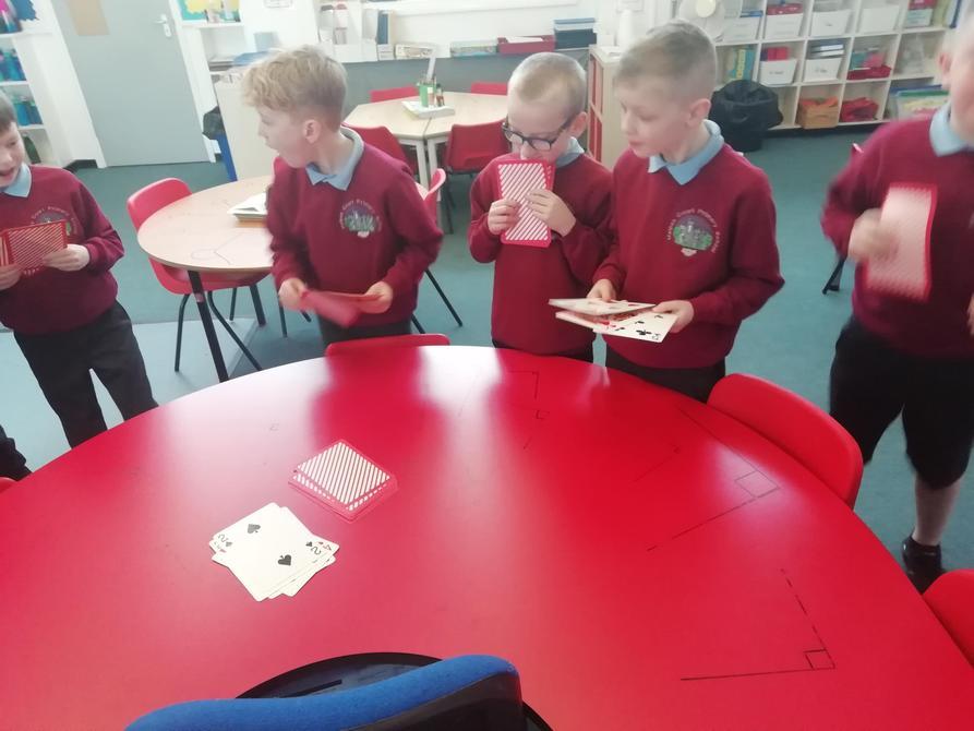 Boys Team Card Games