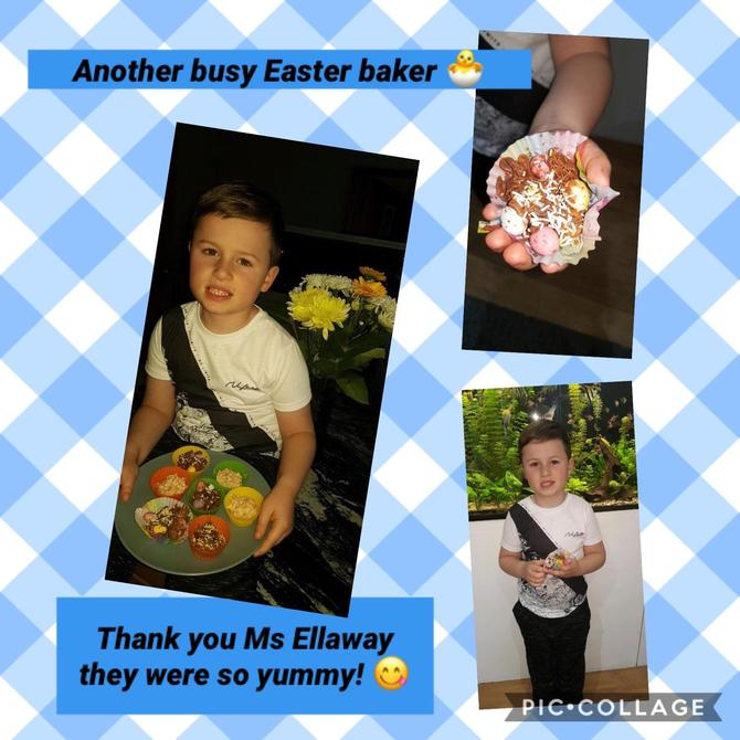 Easter Nests to make at home