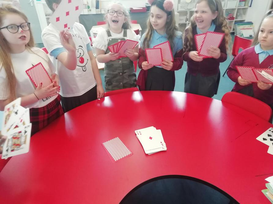Girls Team Card Games