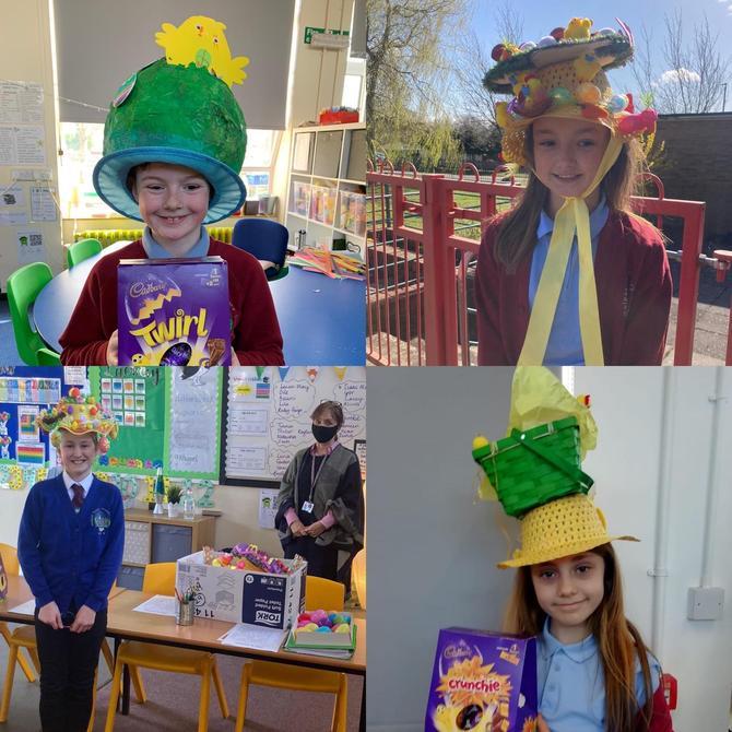 Easter bonnet winners KS2